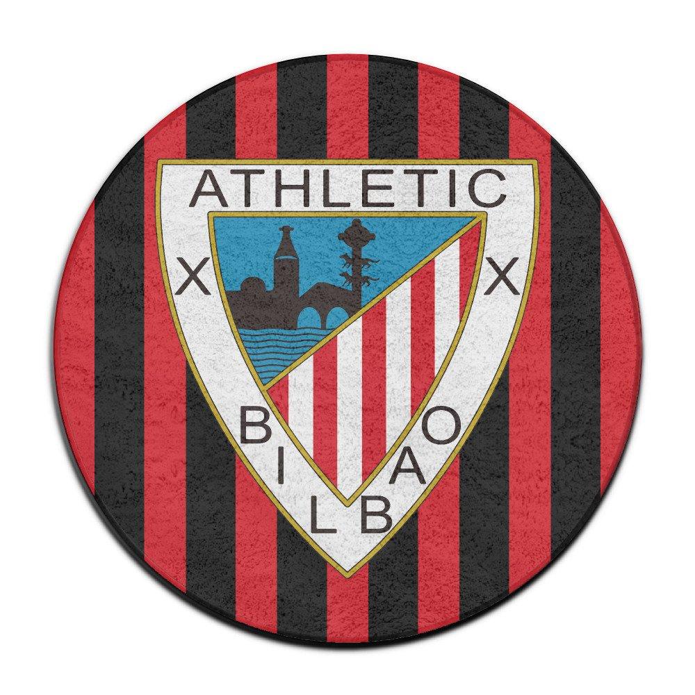 Fanre Athletic Bilbao Circular para Exteriores Felpudo: Amazon.es: Jardín