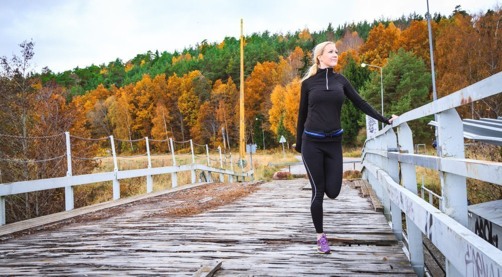 The Friendly Swede Dual Pocket Sport and Running Belt 2 Pack