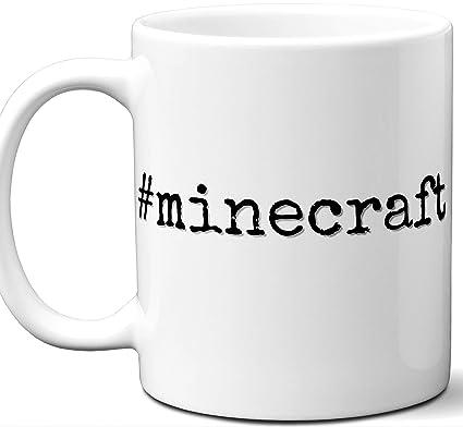 Amazoncom Minecraft Hashtag Mug Gift Cool Hip Unique