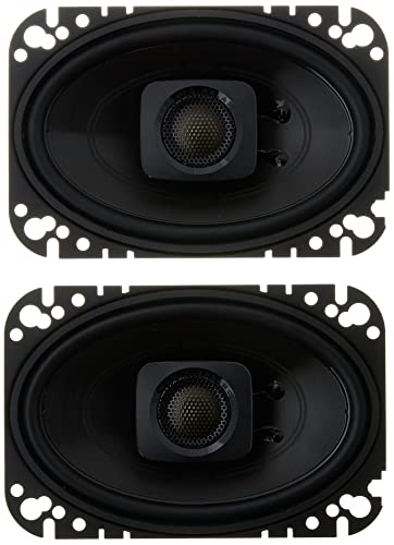 image of POLK AUDIO DB462 4×6 - one of the best 4x6 speakers for car