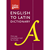 English to Latin (One Way) Gem Dictionary: Trusted support for learning (Collins Gem)