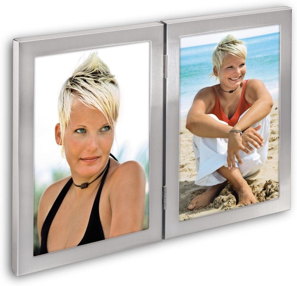 argent/é 10 x 15 cm Hama Cadre photo Bristol pour portrait