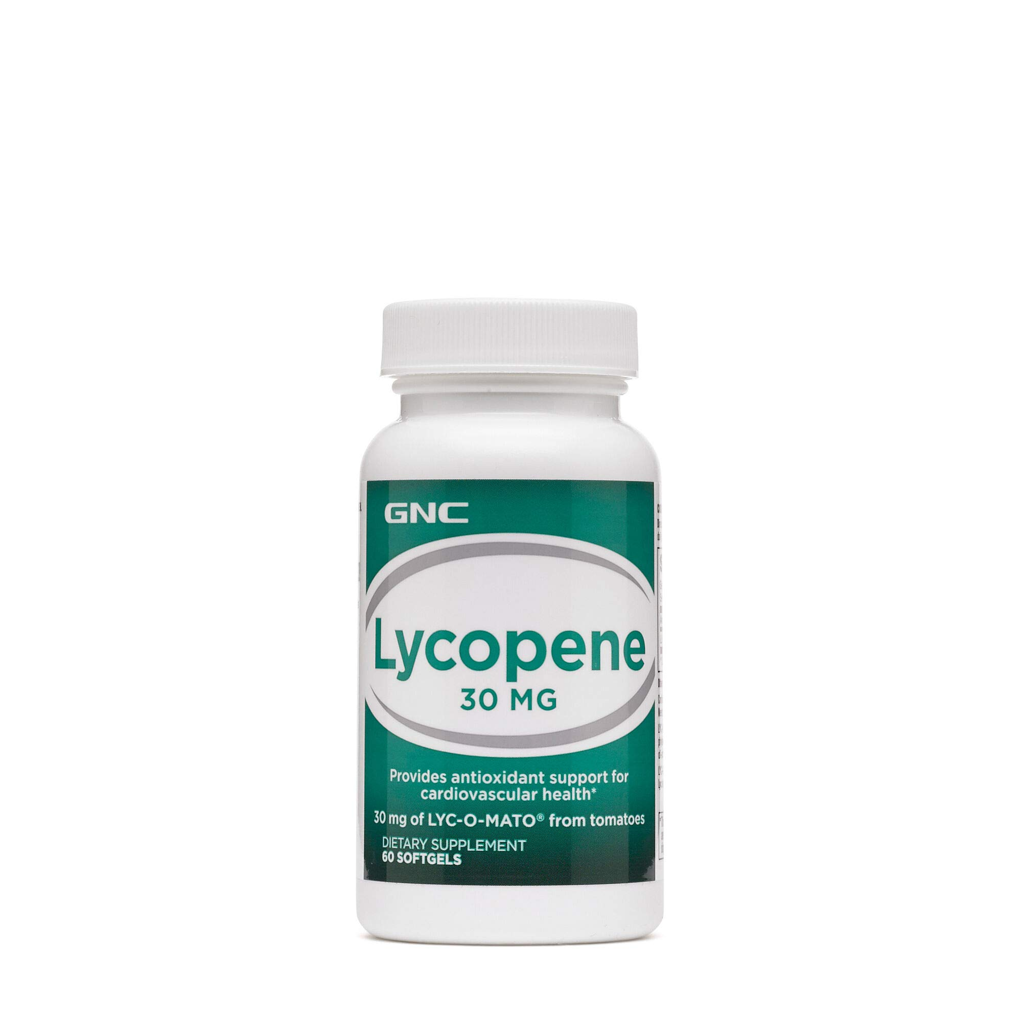 GNC Lycopene 30mg, 60 Softgels, Supports Cardiovascular Health by GNC