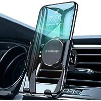 VANMASS Handyhalter fürs Auto Handyhalterung Lüftung mit Automatischer Speicherfunktion Universal Kfz Smartphone Halterung Kompatibel mit XS Max/XR/X/8, Samsung S10/S10+/S9/S8/Note9 Huawei und mehr