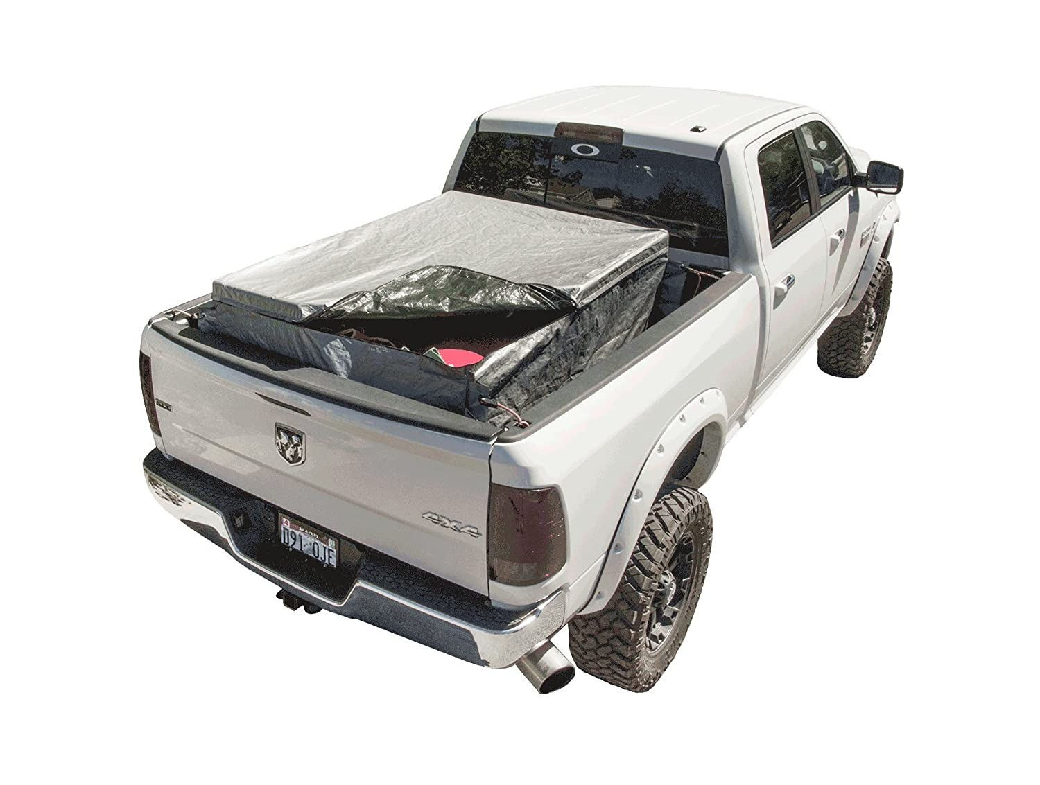 Silver 4 Foot RuffSack Rssilver4 Truck Bed Cargo Bag