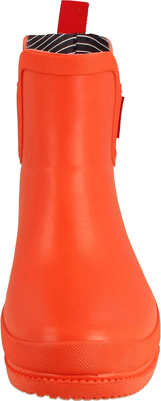 derbe Damen Gummistiefel orangerot 40