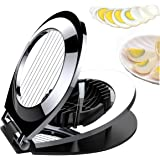 Oyeeice Stainless Steel Wire Egg Cutter Slicer with 3 Slicing Styles