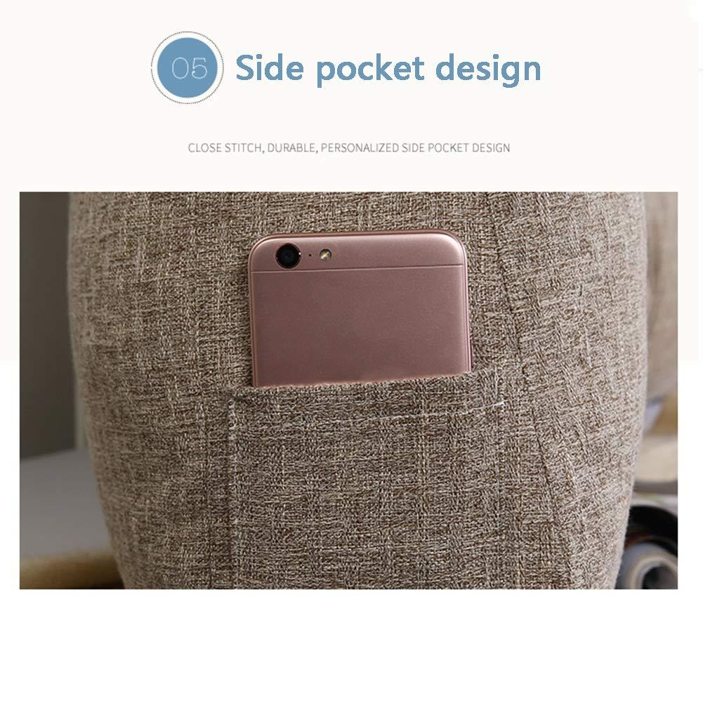 LEBAO Soft Poggiatesta Color : A, Size : 90 * 50cm Cuscino Testiera Testiera Schienale Schienale Letto Estraibile E Lavabile Testata Pad Vita Pad