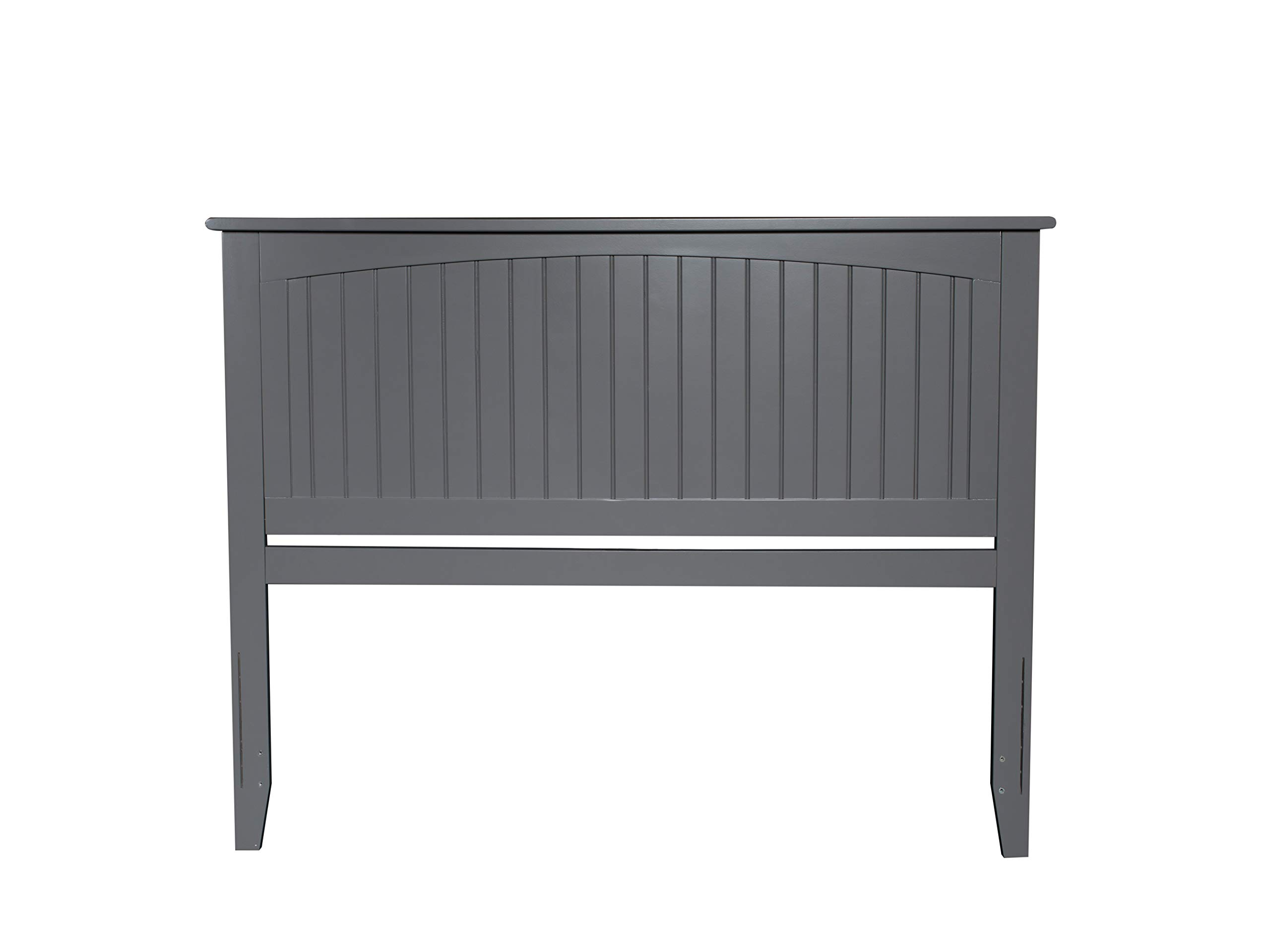 Atlantic Furniture AR282859 Nantucket Headboard, King, Grey by Atlantic Furniture