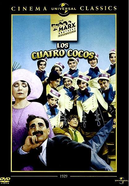 Los cuatro cocos (Cocoanuts) [DVD]: Amazon.es: Zeppo Marx, Groucho ...