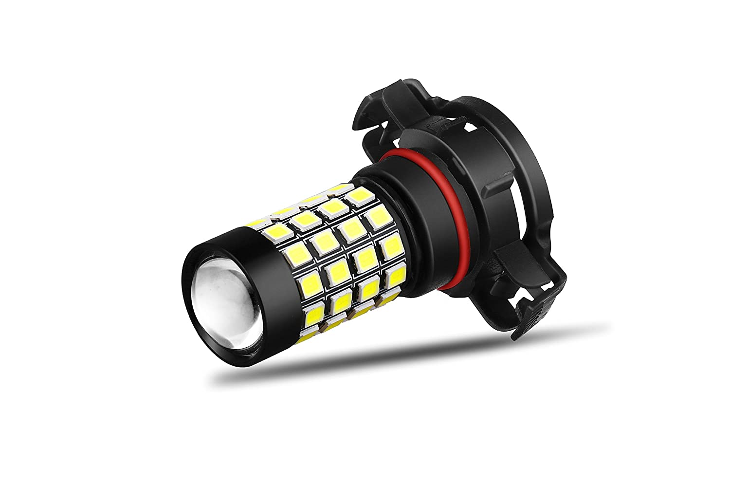 Alla Lighting 2000 Lumens High Power 2835 51-SMD Super Extremely Bright 6000K White H10 9145 9045 9140 9040 LED Bulbs for Fog Light Lamps Replacement