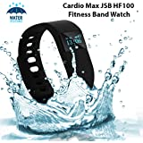 Cardio Max Fitness Band Watch for iPhone and Android Smartphones