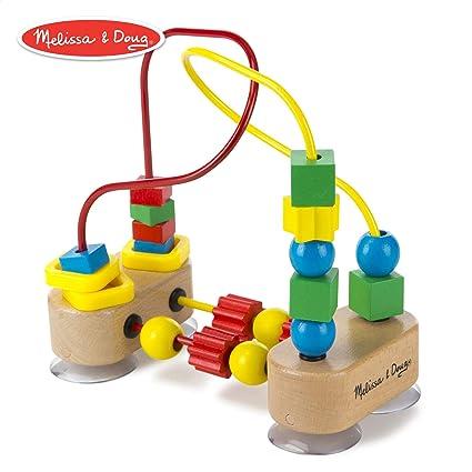 Amazon com: Melissa & Doug First Bead Maze (Developmental