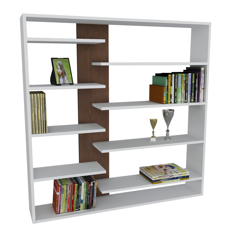 Handy designer bookcase bookshelf by modern furniture deals shelf amazon co uk kitchen home