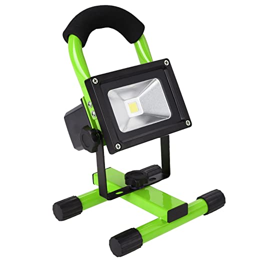 Amazon.com: 10 W inalámbrico recargable LED luz de ...