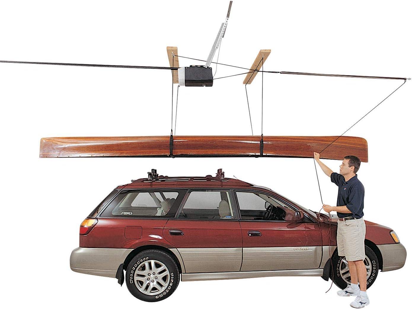 4 Point System Part No 7808 2:1 Mechanical Advantage HARKEN Garage Storage Ceiling Hoist for 10ft Ceilings up to 45lbs//20kg Max Load