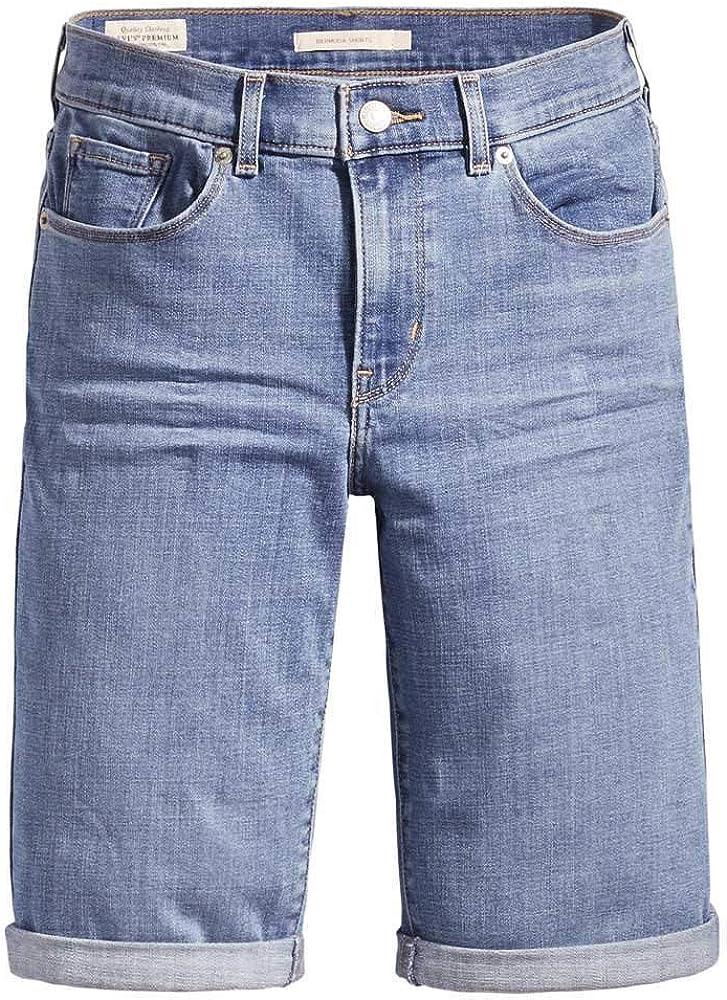 Levis/® W23-W36 Bermuda pour femme 60 /% coton Bleu