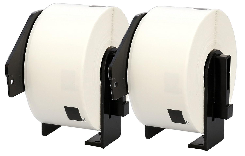 10 Compatibles Rollos DK11208 DK-11208 Etiquetas 38mm x 90mm Etiquetas DK-11208 para Brother P-Touch QL-500 QL-550 QL-560 QL-570 QL-580N QL-650TD QL-700 QL-720NW QL-1050 QL-1060N (400 Etiquetas por Rollo) 1b550e