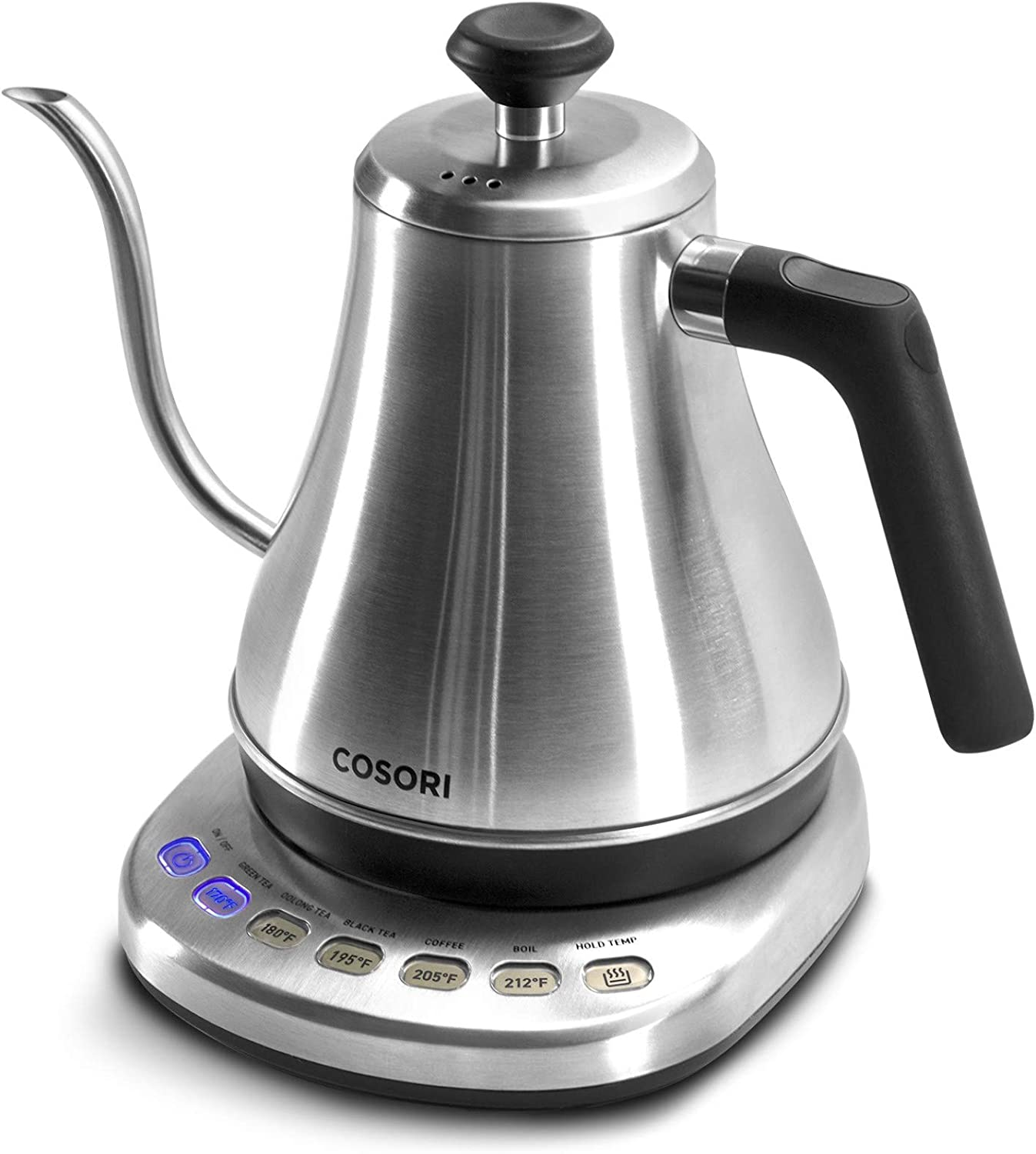 COSORI Electric Gooseneck Kettle with 5 Variable Presets, Pour Over Coffee Kettle