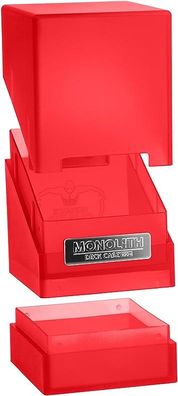Ultimate Guard Monolith Deck Case 100+ Caja de Cartas Tamaño ...