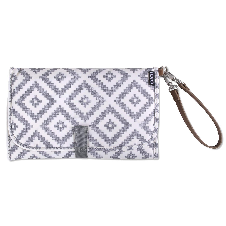 Black Aztec Baby Nappy//Diaper Changing//Change Clutch//Mat//Foldable Wallet//Bag