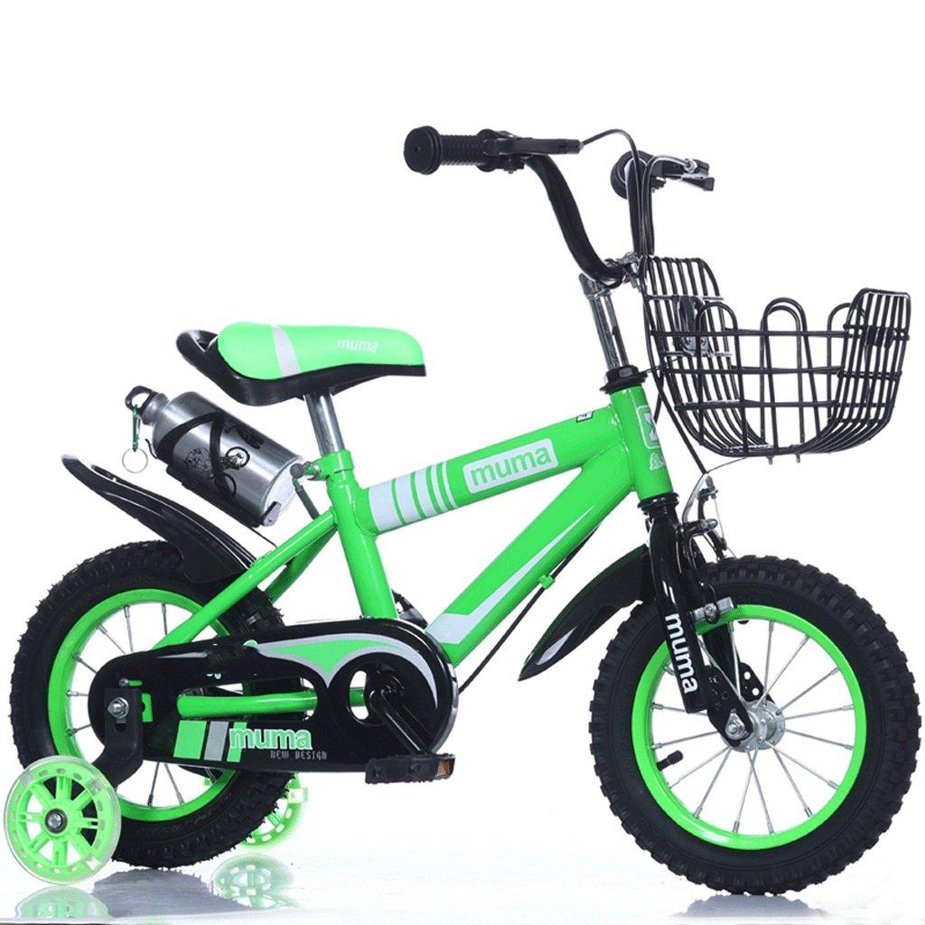 自転車 子供の自転車3歳のベビーペダル自転車2-4-6歳の男の子と女の子6-7-8-9-10歳の赤ん坊の運送 (サイズ さいず : 18inch) B07DPMQX3G 18inch 18inch