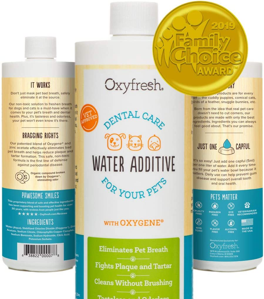OXYFRESH PREMIUM PET DENTAL WATER ADDITIVE
