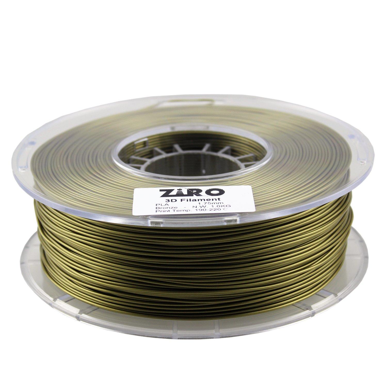 ZIRO Filamento para Impresora 3D, PLA, 1,75 kg, precisión ...