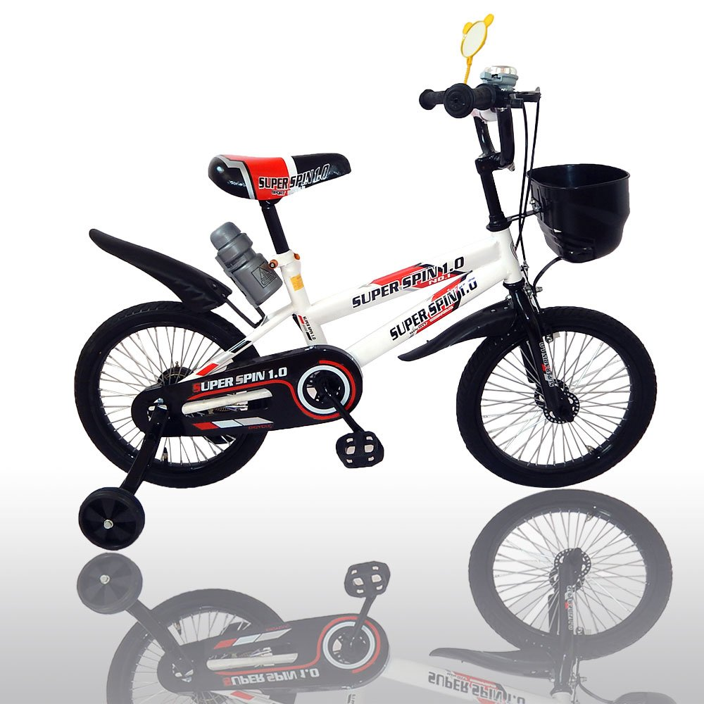 American Phoenix Multi Styles Kids Bike 12-Inch 16-Inch Wheels Avaiable BMX Freestyle Bicycle With Training Wheels Steel Frame, Newest Stytle Boy's Bike and Girl's Bike (Boys Bicycle With Bottle, 16-Inch Wheel)