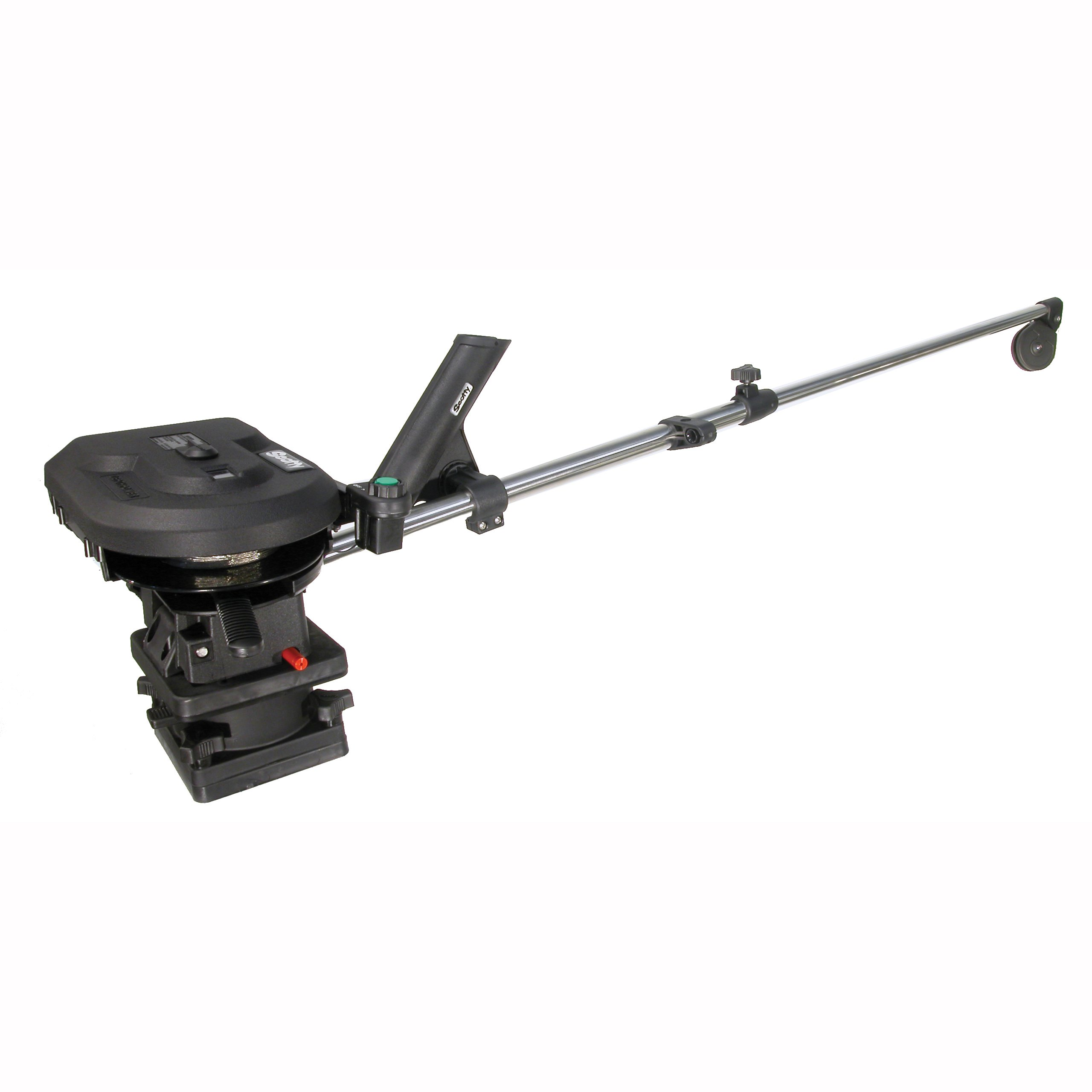 Scotty #1106 Depthpower Electric Downrigger w/ 60-Inch Telescopic Boom & Swivel Base, Rod Holder by Scotty