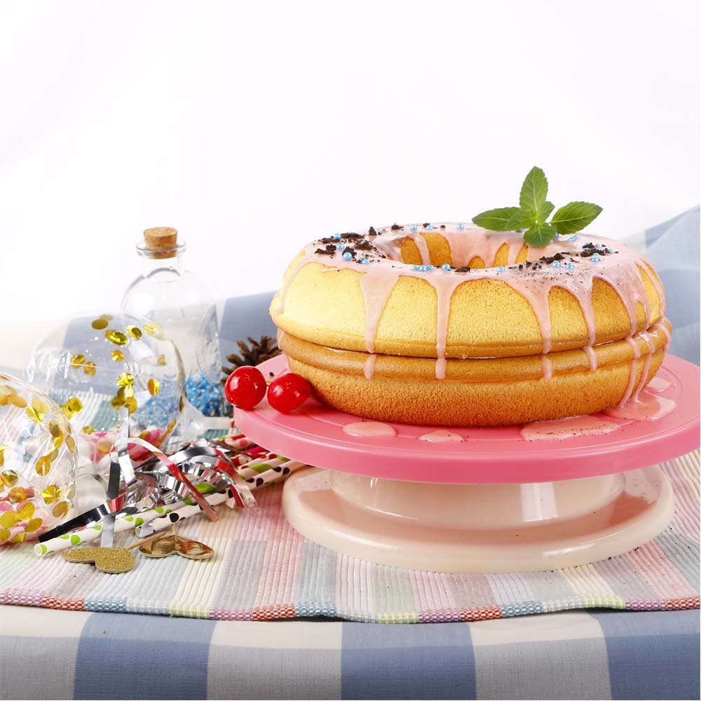 Webake Jumbo Silicone Donut Mold Non-Stick Cake Pan Set of 2 by Webake (Image #9)