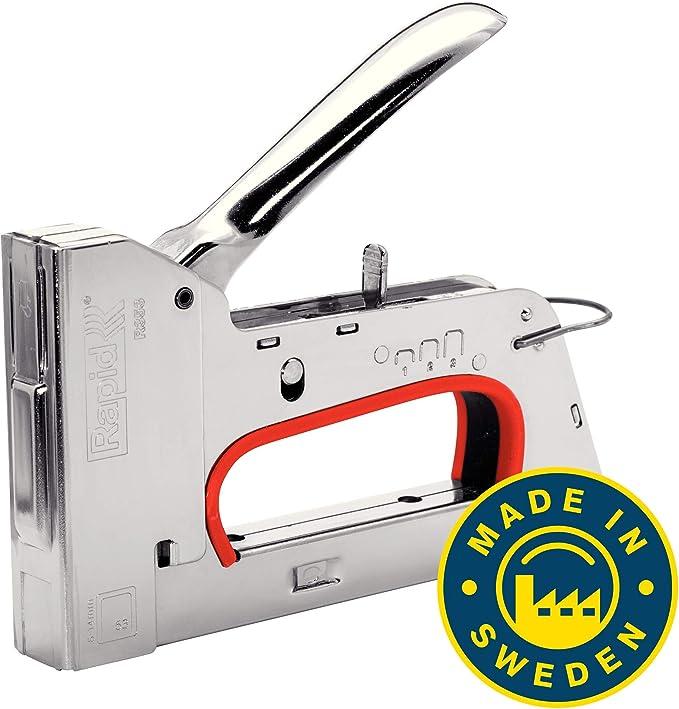 RAPID 10640125 - Grapadora clavadora manual R353 en Caja: Amazon ...