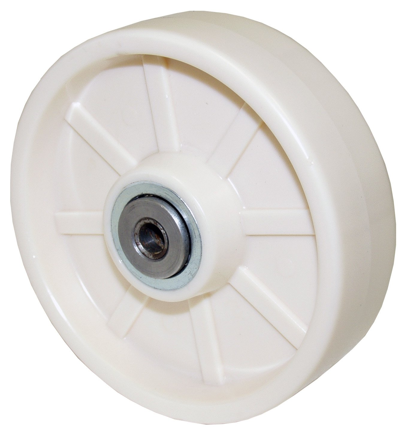 RWM Casters FSR-0625-12 6 Diameter X 2-1//2 Width Tread Forged Steel Wheel With Roller Bearing For 3//4 Axle 5000 lbs Capacity