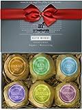 ArtNaturals Bath Bombs Gift Set - 6 Bubble Bath Bomb Fizzies - w/Essential Oils, Shea & Cocoa Butter - Aromatherapy for…
