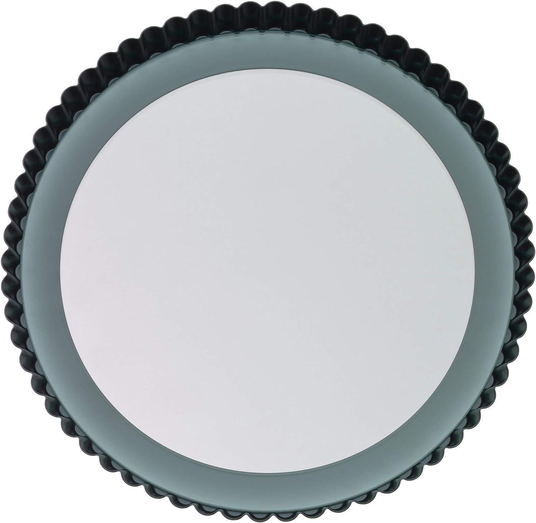 Bague Acier Antiadh/ésive Fond Verre Passe au lave-vaisselle Kaiser 2300622101 Moule /à Tarte//Quiche