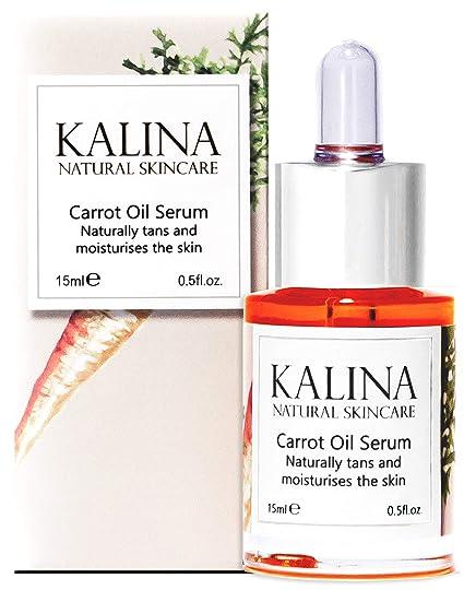 Zanahoria Aceite para cara | Naturally bronceado y hidrata la piel | anti envejecimiento natural Tratamiento