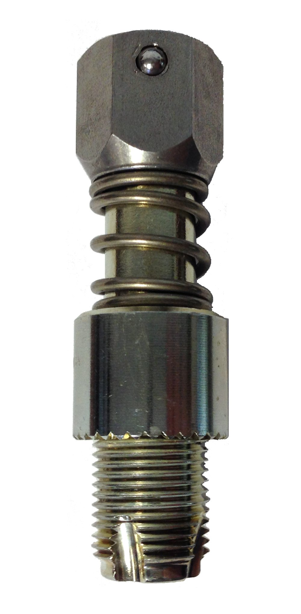 Spark Plug Hole Conditioning Tool - 18mm, Long Reach, Non-Tapered Seat (21045-18L) by BG Service Company (Image #1)