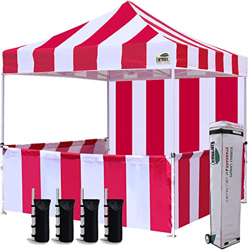 Eurmax 10 x10 Ez Pop-up Booth Canopy Tent Commercial Instant Tent
