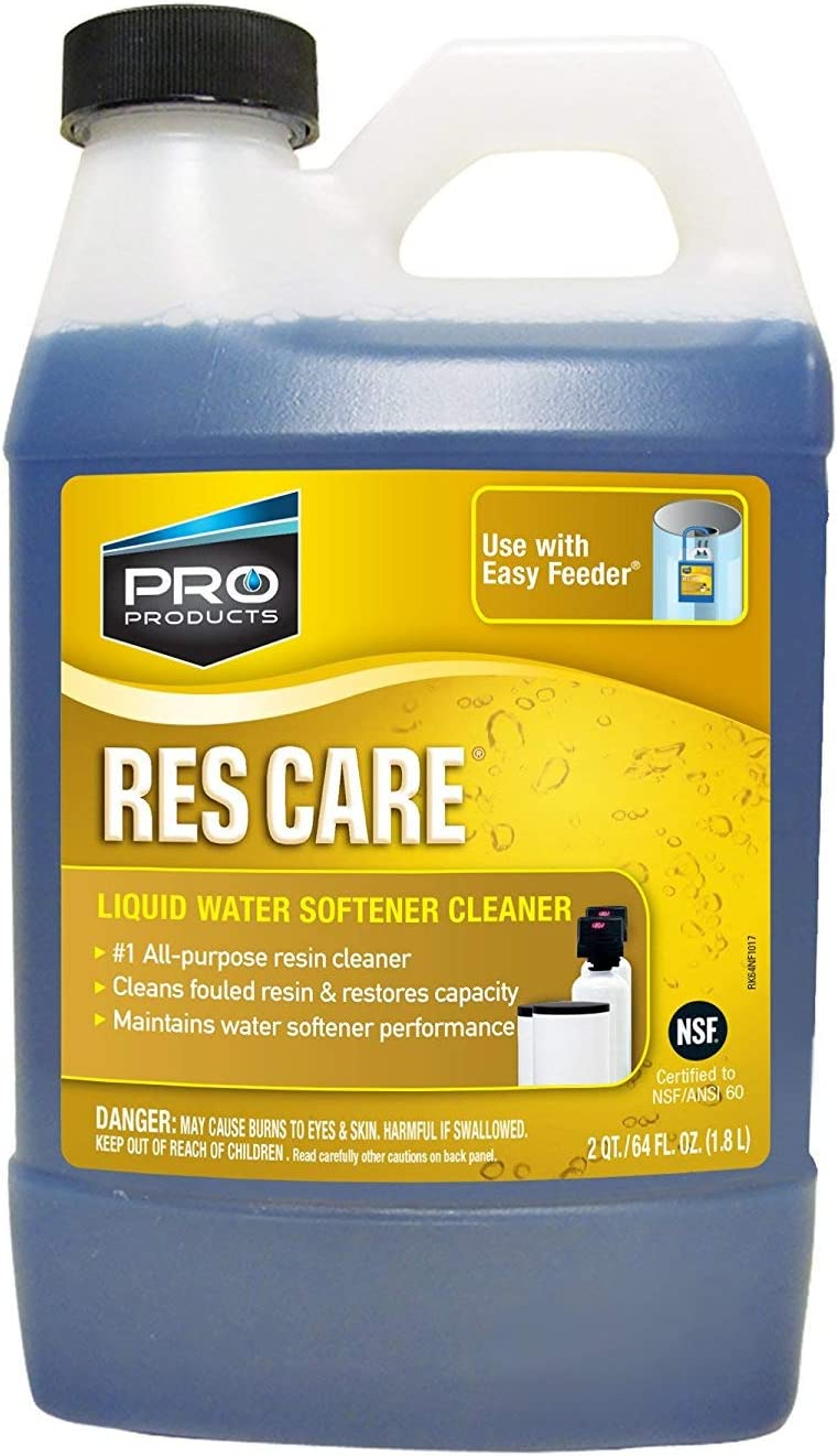 GDM HOME ResCare RK64N All-Purpose Water Softener Cleaner 64 Ounce