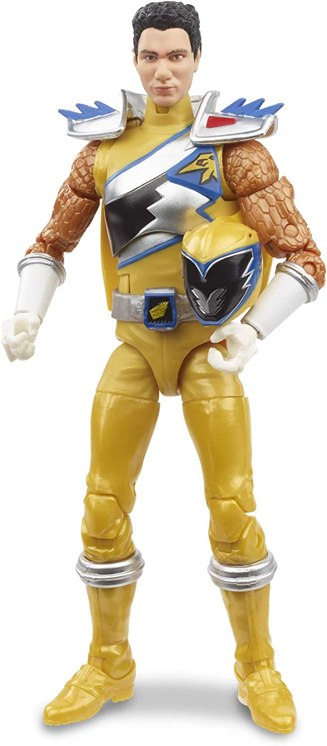 Power Rangers Lightning Collection Dino Charge Gold Ranger IN STOCK!!