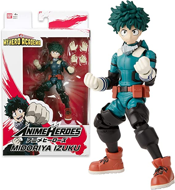 Anime My Hero Academia Izuku Midoriya #323 PVC Action Figure Toy Gift New N B