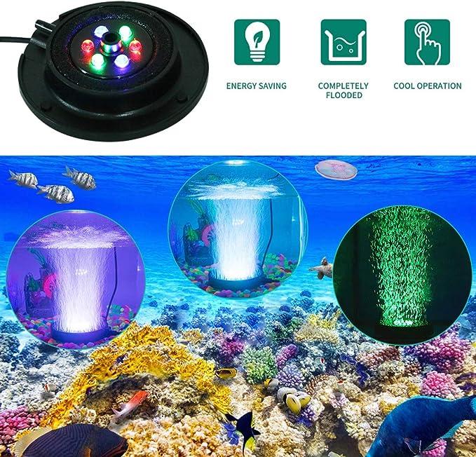 Ciano Aquarium Fish Tank//Terrario Filtro Interno Pietra Ornamento
