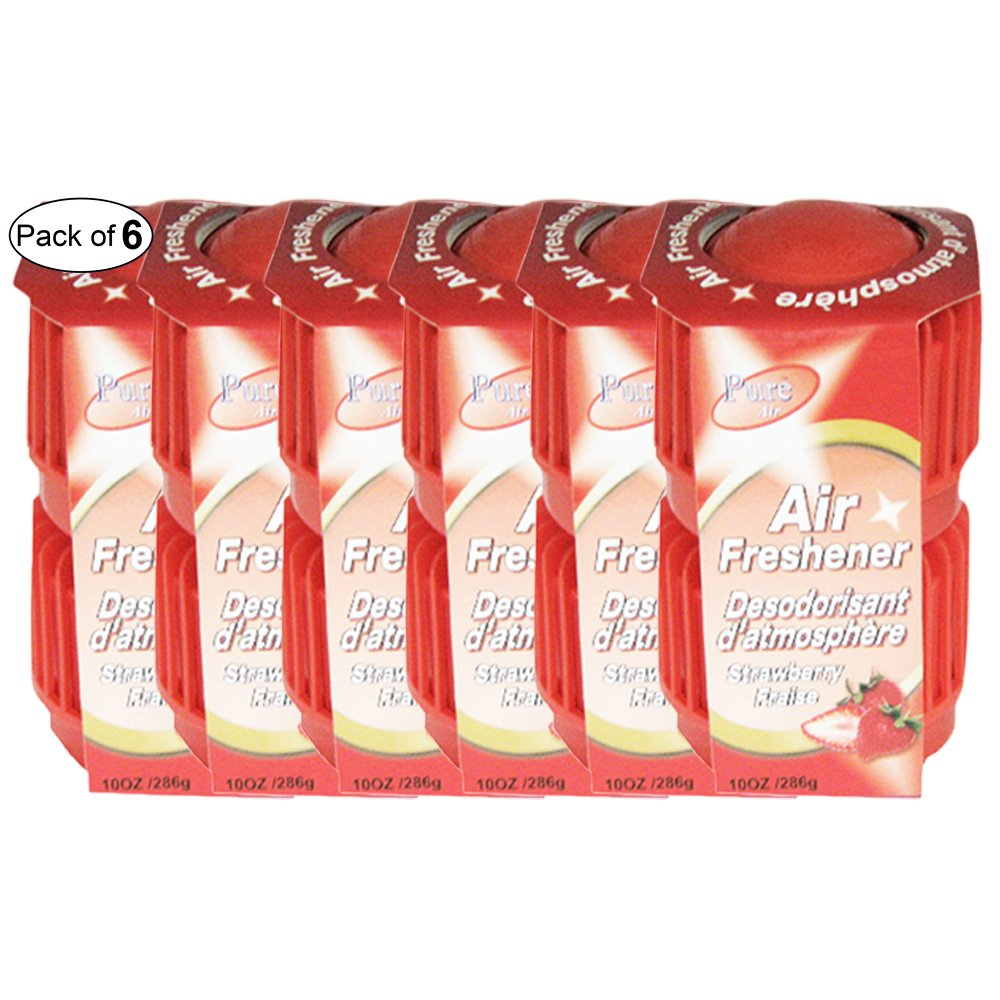 Pure Air Twin Pack Air Freshener- Strawberry (286g) (Pack of 6)