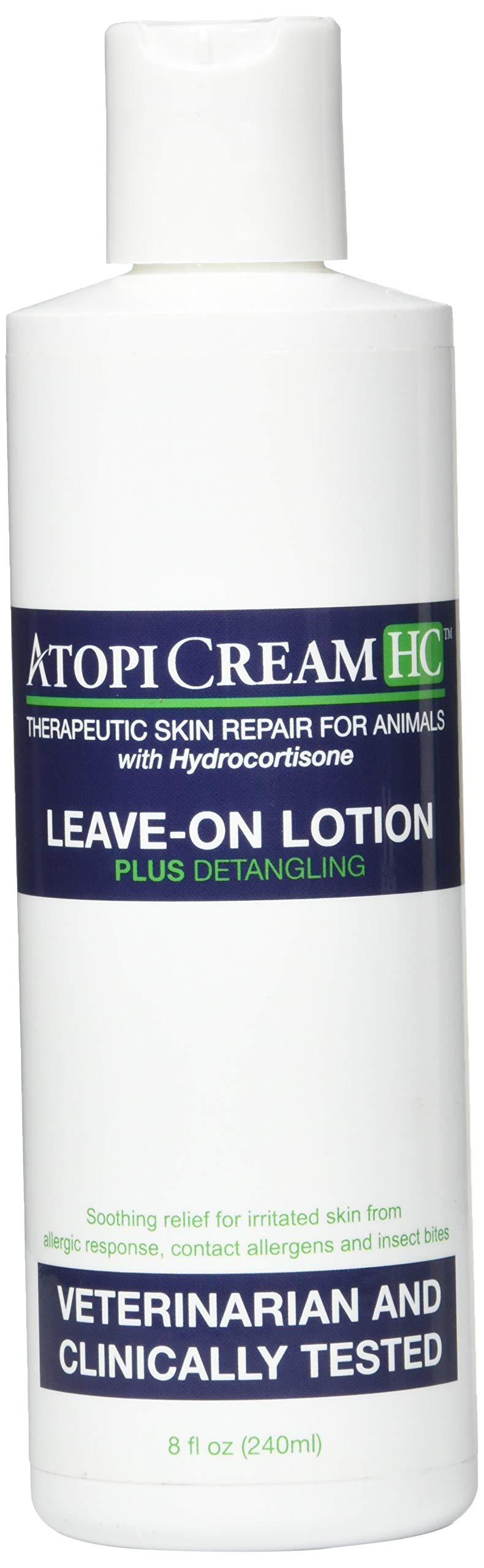VetriMAX AtopiCream HC 1% Hydrocortisone Leave-on Lotion for Animals