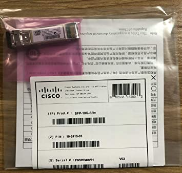 Genuine Cisco SFP-10G-SR Receivers & Separates at amazon