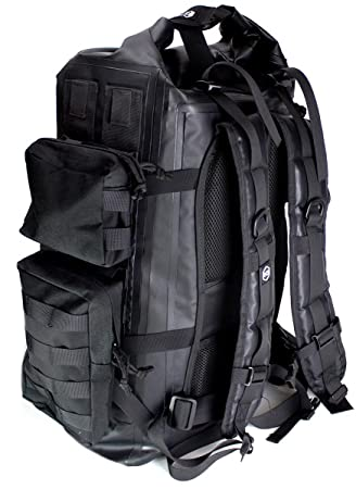 Mission Darkness Dry Shield Faraday Backpack 40L. Waterproof Tactical  Backpack w MOLLE Webbing   6d17cdc192