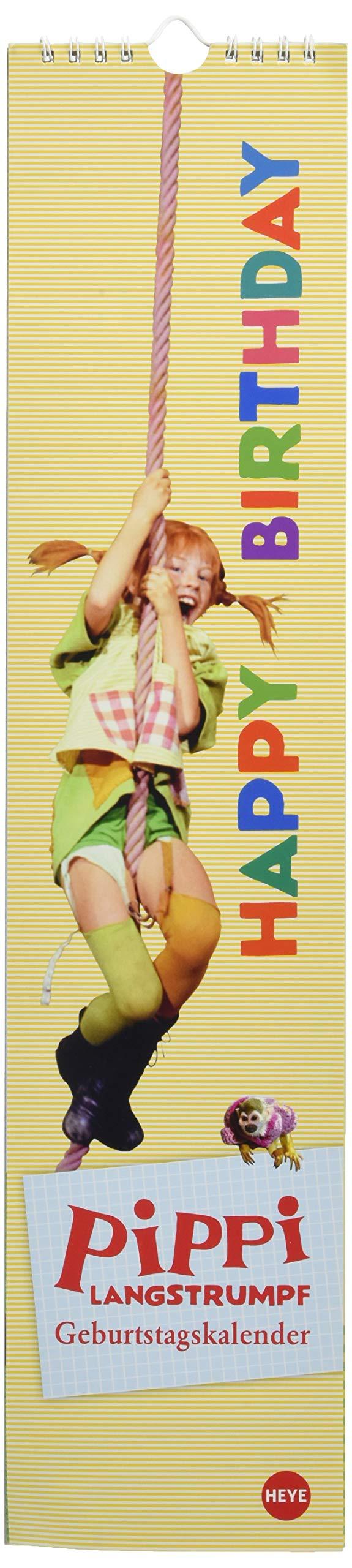Pippi Langstrumpf Geburtstagskalender long