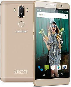 LANDVO MAX -6 Pulgadas Smartphone Móvil Libre Android 6.0, MT6580 ...