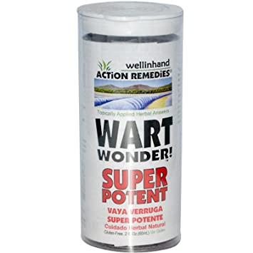 Well-in-Hand Herbals Wart Wonder Super Potent - 2 Oz