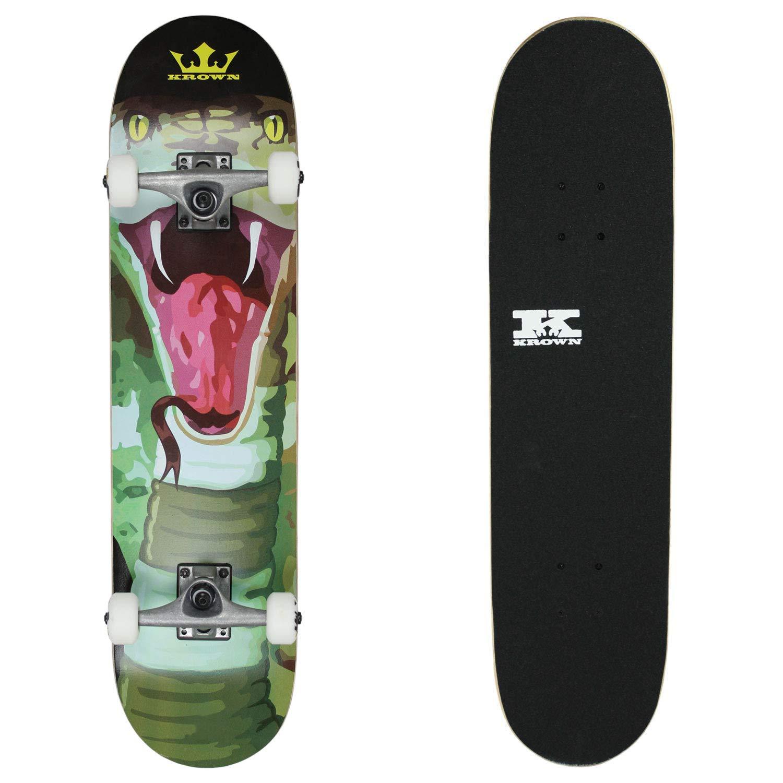 Krown KRRC-72 Rookie Cobra Skateboard Complete, Cobra by Krown
